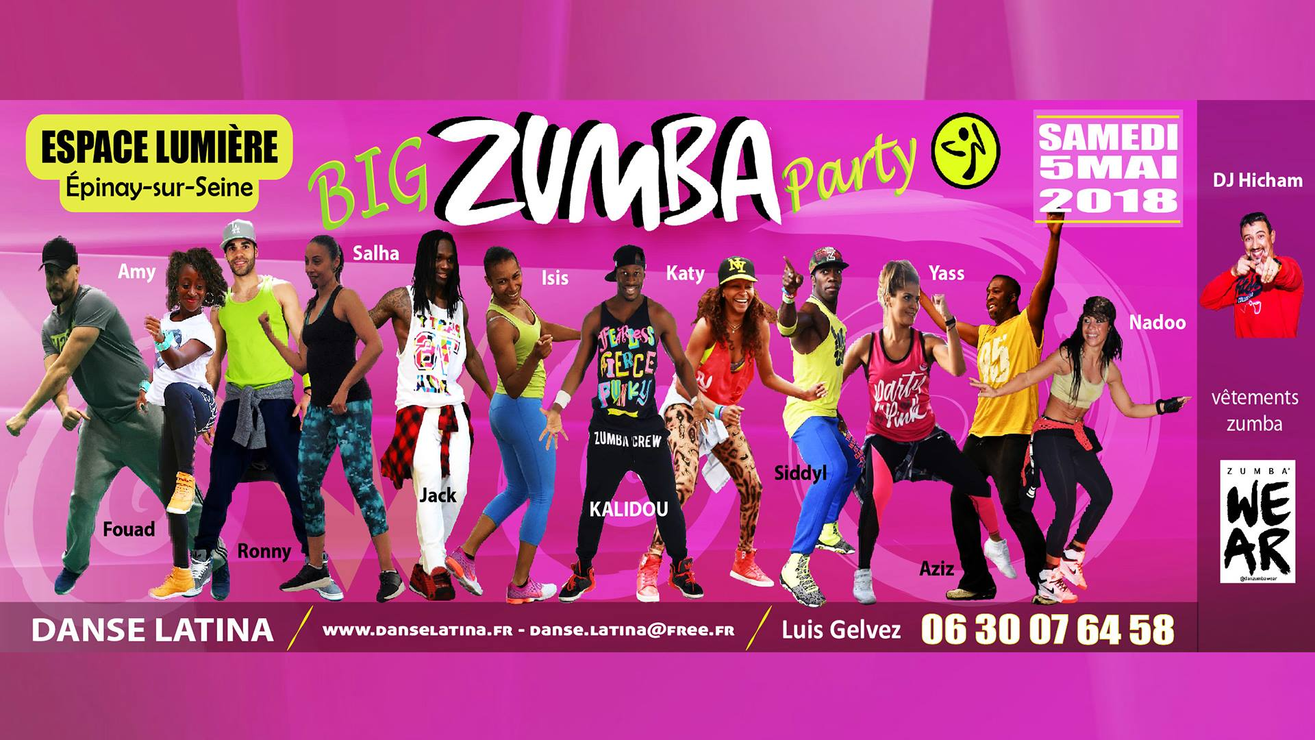 BIG ZUMBA PARTY – 5ème Édition